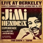 Виниловую пластинку Jimi Hendrix LIVE AT BERKELEY (180 Gram)