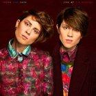 Виниловая пластинка Tegan and Sara LIVE AT ZIA RECORDS (Aqua blue vinyl)