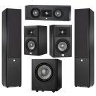 JBL STUDIO Set 5.1 290+230+225c+260p Black