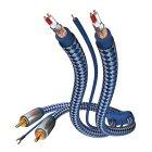 Кабель межблочный In-Akustik Premium Phono Cable RCA-RCA 2.0m #00405120