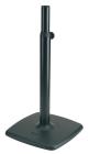 Аксессуары для студийного оборудования K&M K&M 26795-000-56 дизайнерская стойка под мониторы, чугунное основание 48x48 см, в. от 80 до 135 см, вес 18, 7 кг, чёрный
