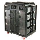 Аксессуары для студийного оборудования QSC WL-8-PACK RACK Кофр для транспортировки/хранения для 8хWideline 2102