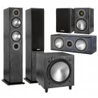 Комплект Monitor Audio Bronze set 5.1 black oak (5+1+Centre+W10)
