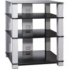 Подставка под аппаратуру Март Hi-Fi New (серый/черное стекло)