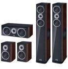 Комплект акустики Heco Music Style 800 Set 5.0 black/espresso (800+200+c2)