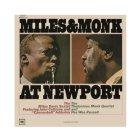 Виниловая пластинка Miles Davis MILES AND MONK AT NEWPORT