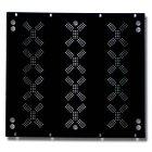 Мебель EuroMet EU/R-KV18  00552 Набор задних рэковых панелей с отверстиями для вентиляции, 18U, с крепежом.