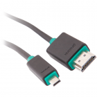 HDMI кабель Prolink PB389-0150 (HDMI - micro HDMI 2.0 (AM-DM), 1,5м)