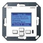 Настенная панель управления Revox M217 display GIRA System 55 (глянцевый белый)