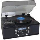 Виниловый проигрыватель Teac LP-R550USB black
