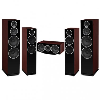 Комплект акустики Wharfedale Diamond 250/230 Set 5.0 rosewood (250+230+220c)