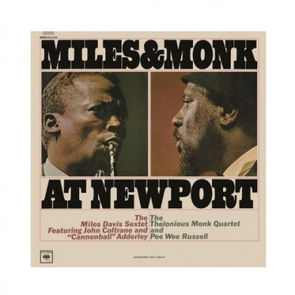 Виниловая пластинка Miles Davis MILES AND MONK AT NEWPORT