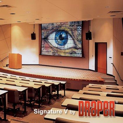 """Экран Draper Signature/V HDTV (9:16) 409/161"""" 201*356 XH600V (HDG) ebd 12"""""""
