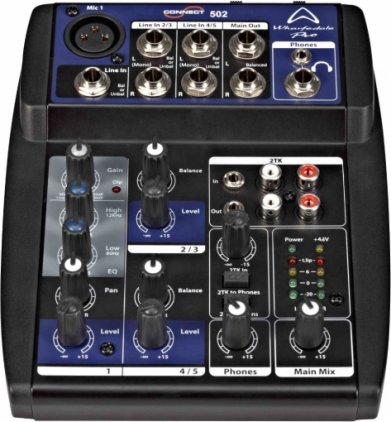 Микшер Wharfedale Pro Connect 502