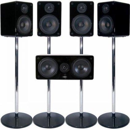 MJ Acoustics XENO 5.1 System MK2 black lacquer