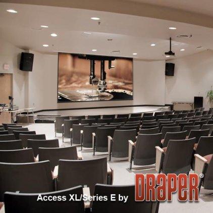 """Экран Draper Access/V HDTV (9:16) 269/106"""" 132*234 XT1000V MattWhite ebd 30"""""""