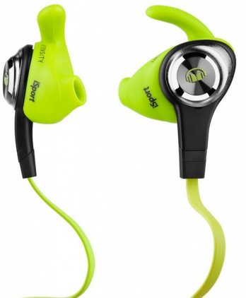Наушники Monster iSport Intensity In-Ear Green (137009-00)