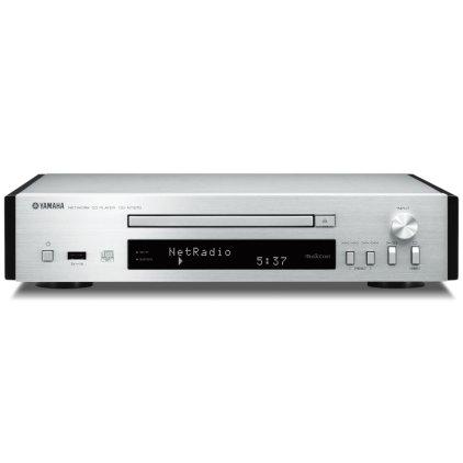 Сетевой аудио проигрыватель Yamaha CD-NT670 silver