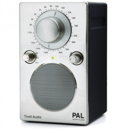 Радиоприемник Tivoli Audio Portable Audio Laboratory black chrome (PALBLKCRM)