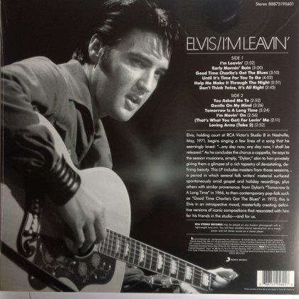 Виниловая пластинка Elvis Presley I'M LEAVIN' (140 Gram)