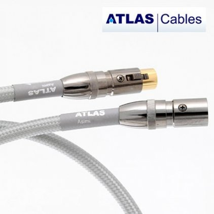 Кабель межблочный аудио Atlas Asimi Silver OCC Ultra XLR 3.0m