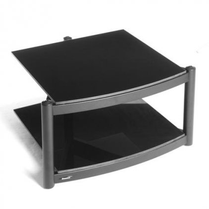 Atacama Equinox RS-2 Shelf Base Module Hi-Fi silver/piano black