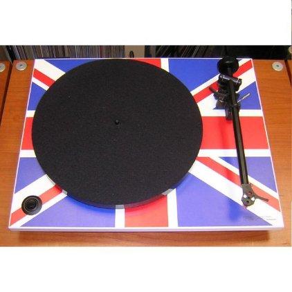 Проигрыватель винила Rega RP1 Union Jack (с картриджем Ortofon OM5e)