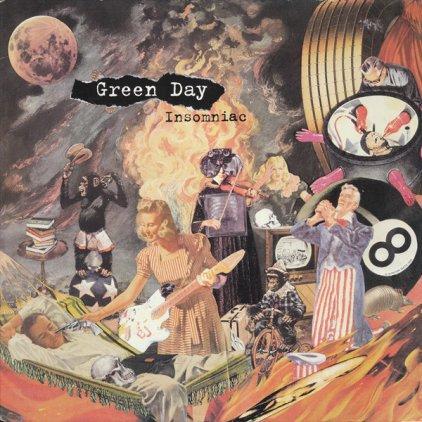Виниловая пластинка Green Day INSOMNIAC (180 Gram)