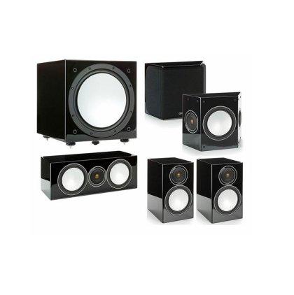 Настенная акустика Monitor Audio Silver FX high gloss black (пара)