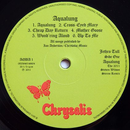 Виниловая пластинка Jethro Tull AQUALUNG (180 Gram)