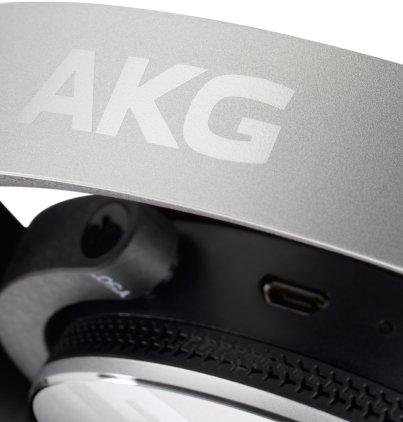 Наушники AKG Y50BT silver