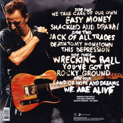 Виниловая пластинка Bruce Springsteen WRECKING BALL (2LP+CD)