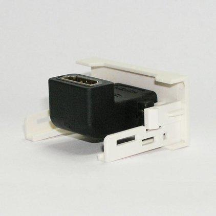 Розетка HDMI с переходником 90º / Dr.HD SOC HDMI 90º CM