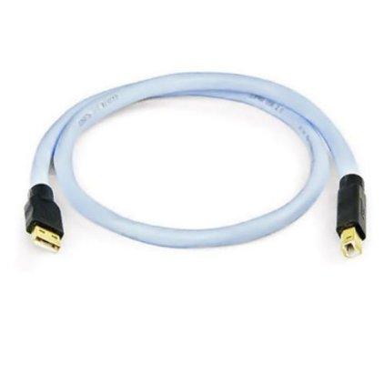 USB кабель Supra USB 2.0 A-B Blue 5.0m