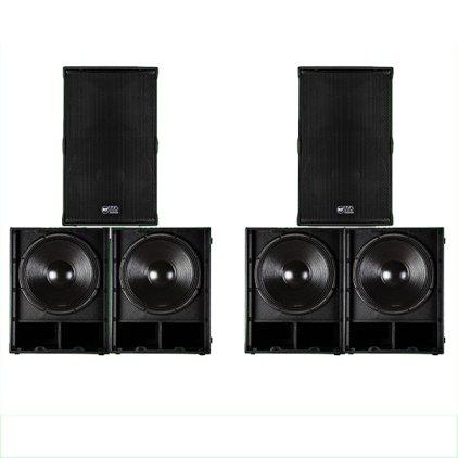 Комплект звукового оборудования RCF TT+ series №1