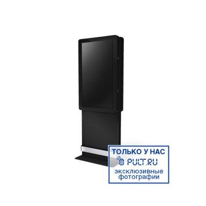 Вандалозащищенная стойка для ТВ SMS Media Cabinet Indoor Totem black