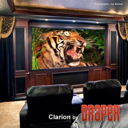 """Экран Draper Clarion HDTV (9:16) 269/106"""" 132*234 HDG 252105"""