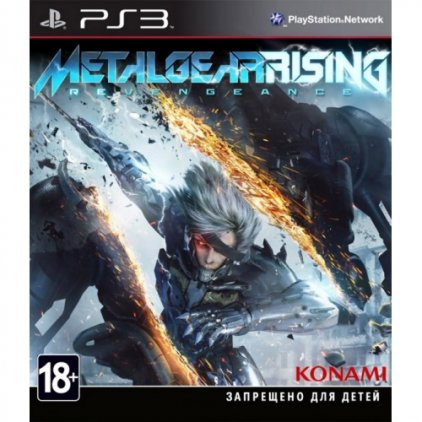 Игра для PS3 Metal Gear Rising: Revengeance (русская документация)