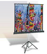 """Экран Da-Lite Versatol (1:1) 214/60"""" 152x152 MW (мобильный)"""
