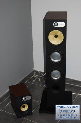 Напольная акустика B&W 683 black ash