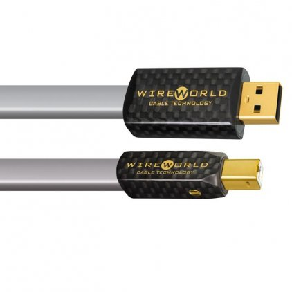 USB кабель Wire World Platinum Starlight 7 USB 2.0 A-B Flat Cable 0.5m