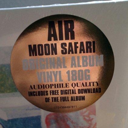 Виниловая пластинка Air MOON SAFARI (180 Gram/Remastered)