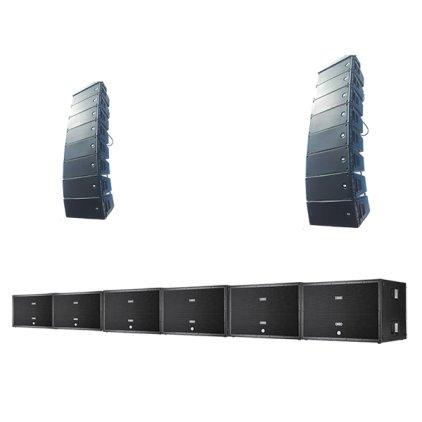 Комплект звукового оборудования №4 RCF D LINE series