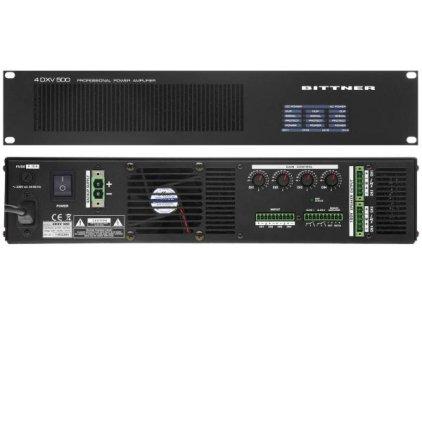 Усилитель мощности Bittner 4DXV 500
