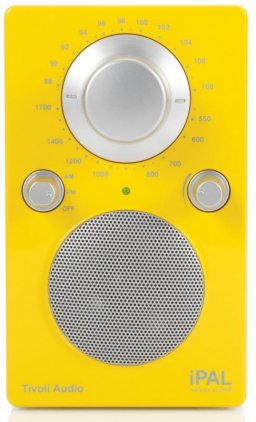Радиоприемник Tivoli Audio iPAL High Gloss Yellow/Silver (PALIPALGY)