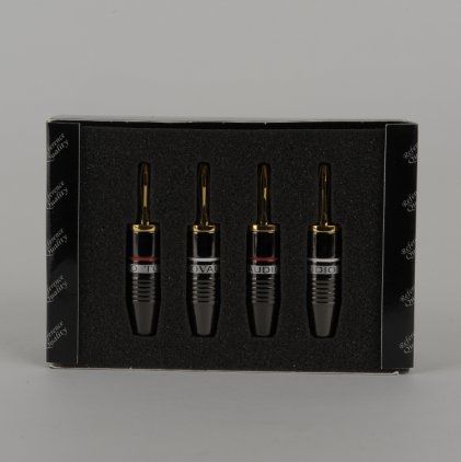 Разъем Tchernov Cable Banana Plug Reference G / Set 4