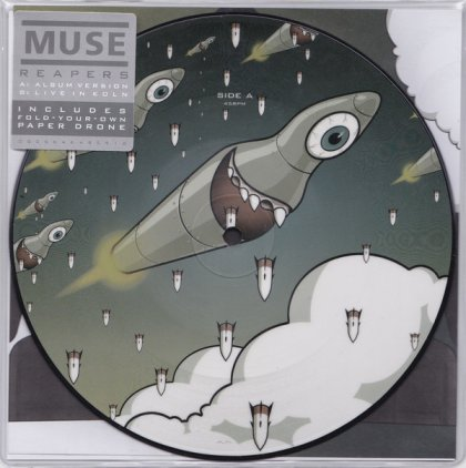 "Виниловая пластинка Muse REAPERS (RSD 2016/7"" Picture disc)"