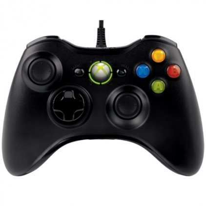 Проводной контроллер Microsoft Xbox 360