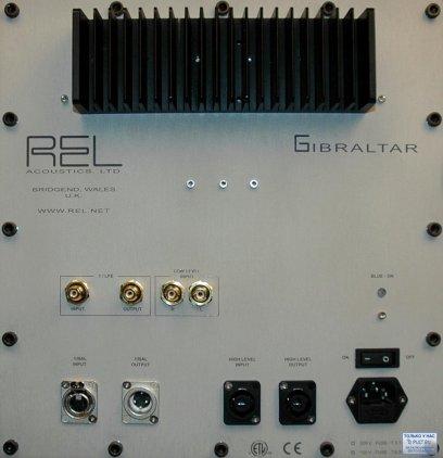 Сабвуфер REL Gibraltar G1 piano black