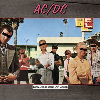 Виниловая пластинка AC/DC DIRTY DEEDS DONE DIRT CHEAP (Remastered/180 Gram)